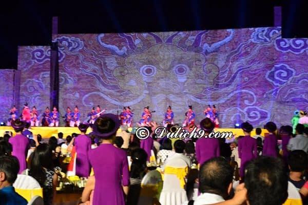 Lưu ý khi du lịch Huế dịp Festival