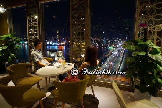 Quán café view cao, đẹp xem pháo hoa Đà Nẵng