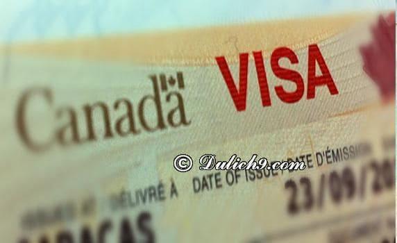 Hướng dẫn xin visa du lịch Canada