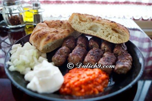 Kinh nghiệm du lịch Croatia giá rẻ: Ăn gì ngon khi du lịch Croatia? Món ăn đặc sản nổi tiếng ở Croatia