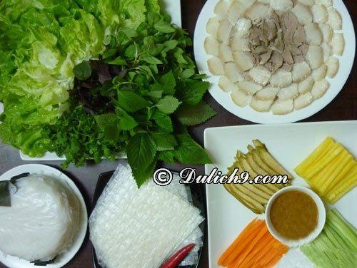 Kinh nghiệm du lịch Đà Nẵng cho gia đình: Du lịch Đà Nẵng dành cho gia đình nên ăn uống ở đâu?