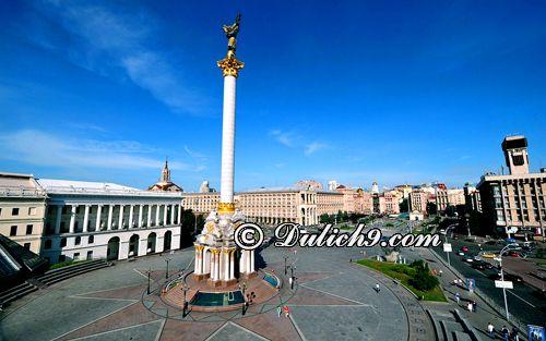Du lịch Ukraina có cần visa không/ Thủ tục xin visa du lịch Ukraina thế nào?
