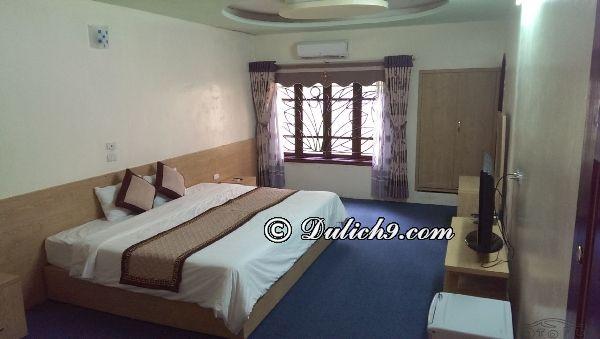 Kinh nghiệm đi Khoang Xanh Suối Tiên tự túc, giá rẻ: Phòng khách sạn ở Khoang Xanh Suối Tiên như thế nào, có đẹp không?