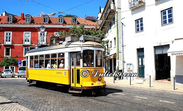 Hướng dẫn cách di chuyển khi du lịch Lisbon: phương tiện đi lại ở Lisbon