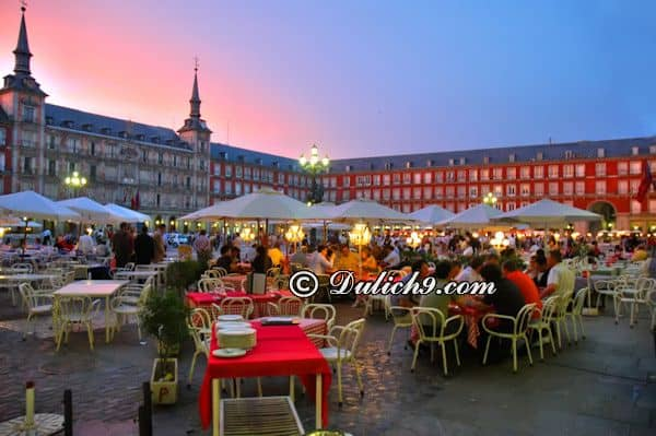 Kinh nghiệm du lịch Madrid tự túc, giá rẻ: Đi đâu, chơi gì ở Madrid? Địa điểm tham quan ở Madrid