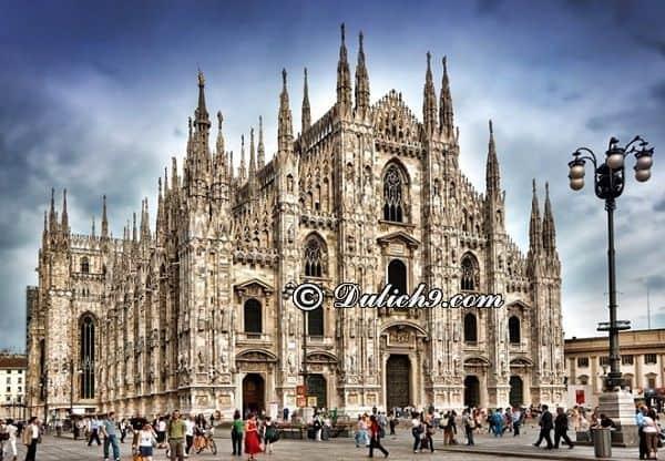 Kinh nghiệm du lịch Milan tự túc, chi tiết: Hướng dẫn, cẩm nang du lịch Milan giá rẻ