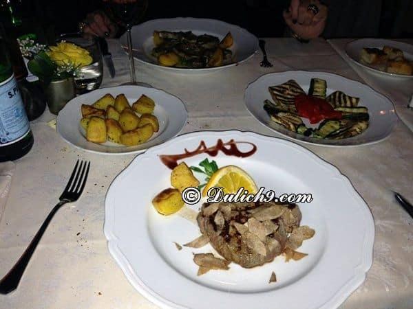 Kinh nghiệm ăn uống khi đi du lịch Milan: Ăn chơi gì khi du lịch Milan? Địa điểm tham quan, ăn uống khi du lịch Milan