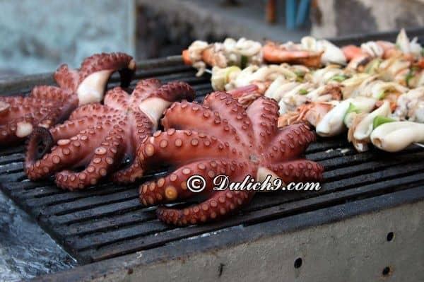 Ăn gì ở đâu khi du lịch đảo Santorini/ Đặc sản, món ngon ở Santorini nổi tiếng, hấp dẫn nhất