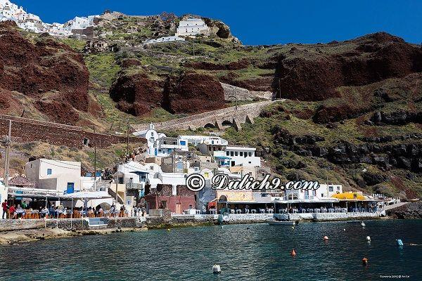 Kinh nghiệm du lịch Santorini giá rẻ: Nên đi đâu chơi khi du lịch Santorini?