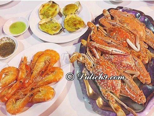 Quán hải sản ngon rẻ ở Vũng Tàu