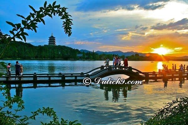 Địa điểm nổi tiếng ở Hàng Châu: Địa điểm ngắm cảnh, chụp ảnh đẹp ở Hàng Châu
