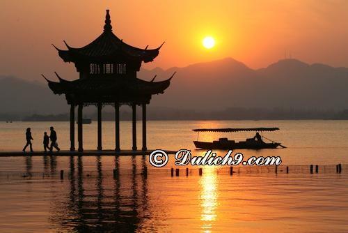 Các địa điểm được ưa thích ở Hàng Châu