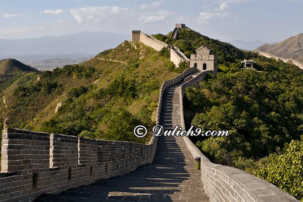 Vạn lý Trường Thành - Bát đạt lĩnh được ưa thích ở Bắc Kinh: Nên đi đâu chơi, tham quan khi du lịch Bắc Kinh