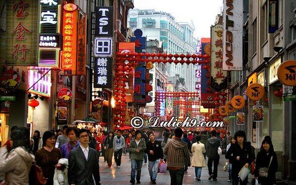 Những lưu ý khi mua sắm ở Bắc Kinh: Địa điểm mua sắm đông đúc, sầm uất nhất ở Bắc Kinh