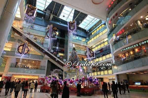 10 địa chỉ mua sắm chất lượng, giá rẻ ở Bắc Kinh: Trung tâm thương mại hàng đầu ở Bắc Kinh