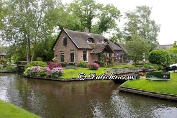 Phương tiện đi lại khi du lịch Hà Lan: Kinh nghiệm du lịch Hà Lan giá rẻ