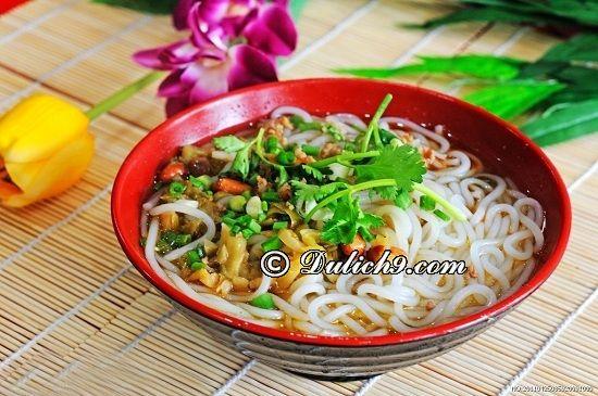 Ăn gì ngon khi du lịch Quế Lâm/ Thưởng thức đặc sản món ngon quế Lâm