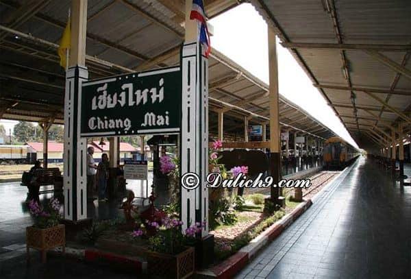 Cách đi từ Bangkok tới Chiang Mai: Du lịch Chiang Mai từ Bangkok bằng phương tiện gì?