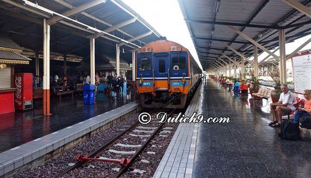 Đi bằng xe lửa từ Bangkok tới Chiang Mai; Hướng dẫn đi du lịch Chiang Mai từ Bangkok bằng xe lửa