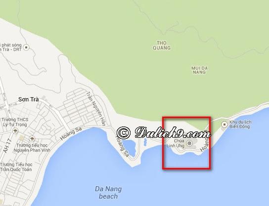 Đi chùa Linh Ứng - Bãi Bụt khi nào đẹp/ Thời điểm tới chùa Linh Ứng - Bãi Bụt: Chùa Linh Ứng ở đâu trên bán đảo Sơn Trà?