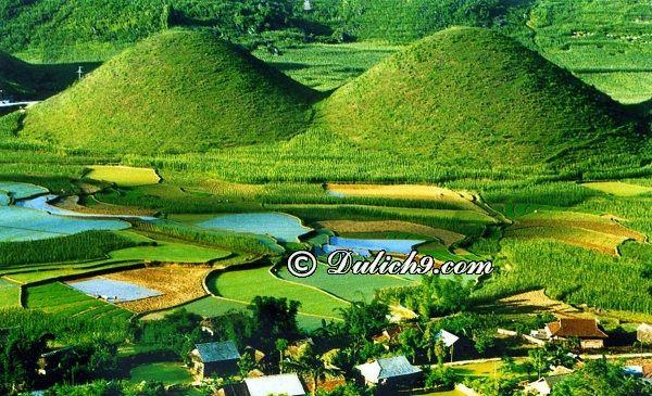 Địa điểm tham quan, ngắm cảnh, chụp ảnh đẹp ở Hà Giang: Núi Đôi, Cổng Trời Quản Bạ - Địa điểm du lịch ở Hà Giang