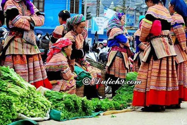 Địa điểm du lịch độc đáo, hấp dẫn ở Hà Giang: Chợ Phiên - Nên đi đâu chơi khi tới Hà Giang?