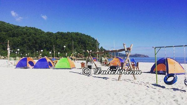 Kinh nghiệm cắm trại ở Cảnh Dương Beachcamp: Nên chuẩn bị gì khi đi cắm trại ở bãi biển Cảnh Dương Beachcamp