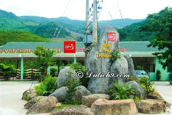 Kinh nghiệm du lịch Hòa Phú Thành tự túc, giá rẻ: Hướng dẫn đi tham quan, vui chơi ở khu du lịch Hòa Phú Thành