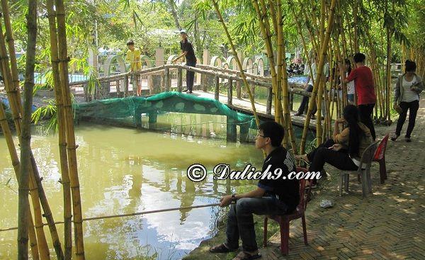 Kinh nghiệm tham quan, vui chơi ở khu du lịch Bình Mỹ, Sài Gòn: Khu du lịch Bình Mỹ có trò chơi gì thú vị, hấp dẫn?