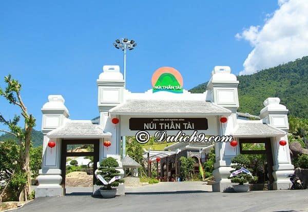 Suối khoáng nóng Núi Thần Tài ở đâu? Giá vé vào cổng, dịch vụ tham quan, vui chơi ở khu du lịch Núi Thần Tài, Đà Nẵng