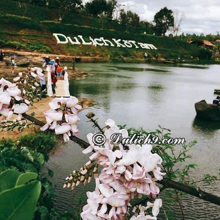 Khu vui chơi, nghỉ dưỡng hấp dẫn ở Kotam: Cảnh đẹp và những hoạt động vui chơi thú vị ở khu du lịch KoTam (Buôn Ma Thuột)