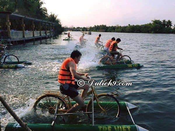 Chơi gì thú vị khi tới làng du lịch Tre Việt? Hoạt động vui chơi giải trí thú vị ở làng du lịch Tre Việt