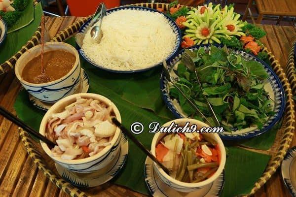 Ăn gì ngon khi tới làng du lịch Tre Việt? Kinh nghiệm ăn uống khi du lịch làng Tre Việt