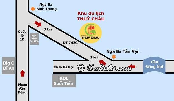 Phương tiện đi tới Thủy Châu/ Đường đi khu sinh thái Thủy Châu: Hướng dẫn đường đi phượt khu du lịch sinh thái Thủy Châu