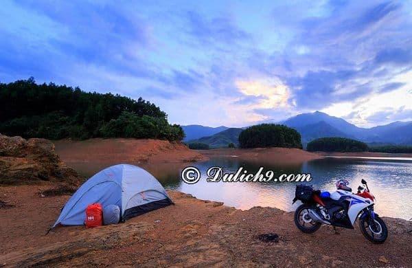 Đi đâu, chơi gì khi tới hồ Hoà Trung, Đà Nẵng? Kinh nghiệm cắm trại ở hồ Hòa Trung