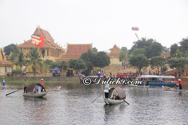 Chơi gì ở Làng văn hoác các dân tộc Việt Nam?