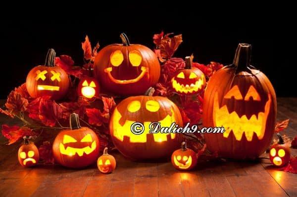 Bạn biết gì về ngày lễ Halloween? Chơi gì khi tới Halloween du lịch?