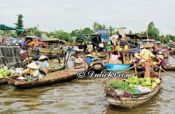 Tham quan chợ nổi Trà Ôn - Long An: Địa điểm du lịch nổi tiếng ở Long An
