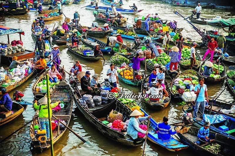 Chợ nổi Cái Bè - đầu mối trái cây của người dân miền Tây: Địa điểm tham quan, vui chơi hấp dẫn ở Tiền Giang