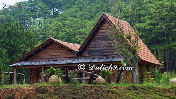 Khách sạn, resort và bảng giá lưu trú tại Làng Cù Lần: Các khách sạn ở làng Cù Lần, Đà Lạt