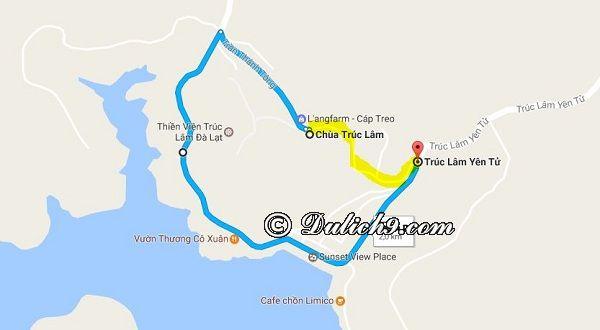 Những điểm tham quan rất gần với Thiền viện Trúc Lâm: Hướng dẫn đường đi du lịch Thiền viện Trúc Lâm Đà Lạt