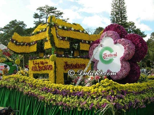Các điểm du lịch gần với vườn hoa trung tâm thành phố Đà Lạt: Du lịch vườn hoa Đà Lạt có gì thú vị, hấp dẫn?
