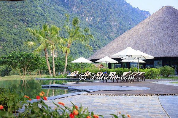 Ở đâu khi tới suối khoáng nóng Kim Bôi/ Khách sạn, nhà nghỉ ở suối khoáng nóng Kim Bôi