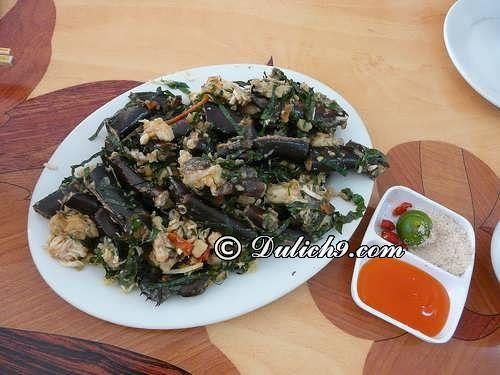 Sam biển Gò Công/ Món ăn nổi tiếng nên thưởng thức ở Tiền Giang