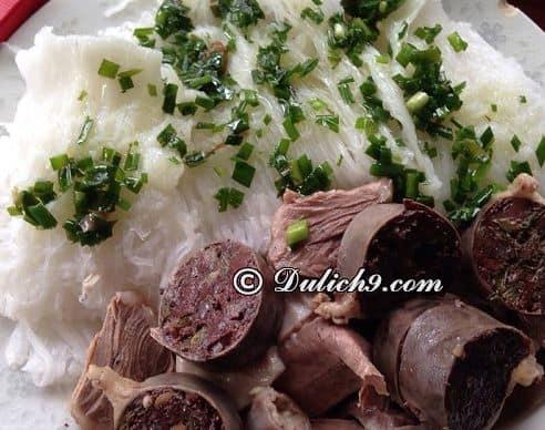 Lòng heo bánh hỏi Phú Long Bình Thuận: Đặc sản nổi tiếng ở Bình Thuận