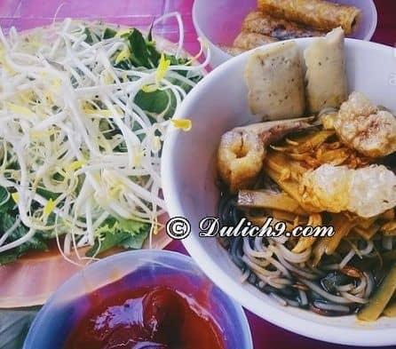 Bún mắm cua - món ăn ngon nổi tiếng ở Gia Lai: Đặc sản dân dã, hấp dẫn ở Gia Lai