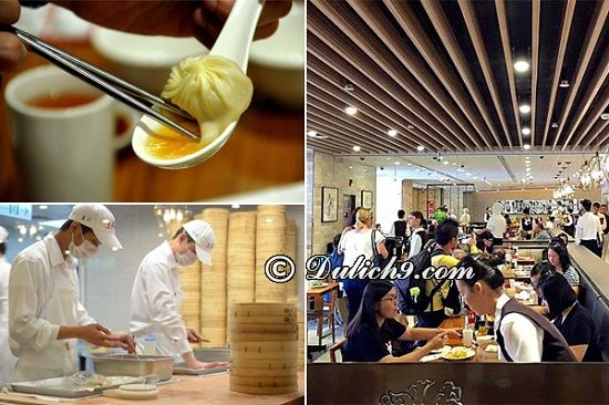 Din Tai Fung - Nhà hàng ngon nổi tiếng tại Đài Loan: Đài Loan có quán ăn nào ngon?