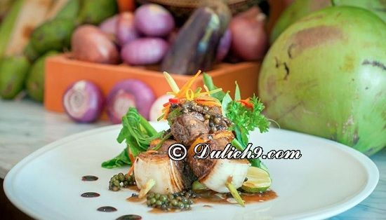 Blue Pumpkin/Địa chỉ ngon nức tiếng Siem Riep: Ăn ở đâu khi du lịch Siem Riep?