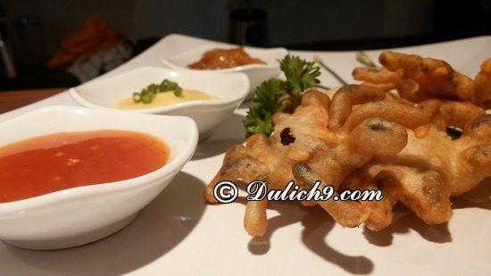 Bugs Café/ nhà hàng ngon nổi tiếng tại Siem Riep: Quán ăn ngon, giá rẻ ở Siem Riep