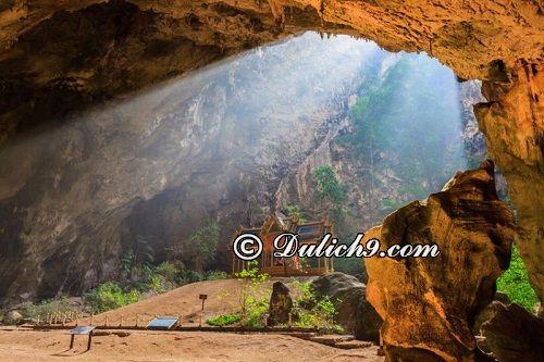 Địa điểm du lịch nổi tiếng ở Hua Hin: Khao Sam Roi Yot National Park and Tham Phraya Nakhon Pranburi/Du lịch Hua Hin nên đi đâu chơi?